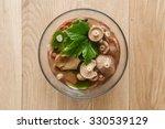 Pickled Milk Mushrooms In The...