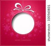 merry christmas tree greeting... | Shutterstock . vector #330560831