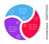 round spiral infographic...   Shutterstock .eps vector #330570101