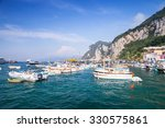 port of capri island  italy.... | Shutterstock . vector #330575861