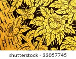 traditional thai style painting ... | Shutterstock . vector #33057745