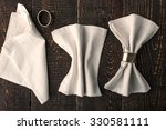 set of the napkins with vintage ... | Shutterstock . vector #330581111