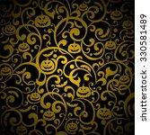 halloween background. ... | Shutterstock . vector #330581489