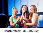 bachelorette party  karaoke ... | Shutterstock . vector #330582059