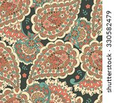 Seamless Paisley Background In...