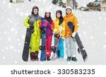 winter  leisure  extreme sport  ... | Shutterstock . vector #330583235