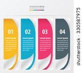 modern banner design   yellow ... | Shutterstock .eps vector #330587975