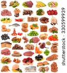 food collection | Shutterstock . vector #330599939
