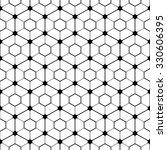 hexagonal tilled pattern.... | Shutterstock .eps vector #330606395