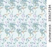 floral seamless pattern   Shutterstock . vector #330619184