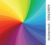 bright rainbow swirl background.... | Shutterstock .eps vector #330624854