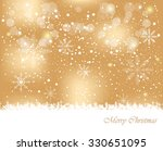 happy christmas background.  | Shutterstock . vector #330651095