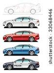 sedan   part of my collections  ... | Shutterstock . vector #33068446