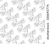 seamless pattern of abstract... | Shutterstock .eps vector #330692774