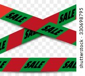 attention danger sale tape in... | Shutterstock .eps vector #330698795