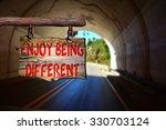 enjoy being different...   Shutterstock . vector #330703124