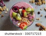 fruit smoothie | Shutterstock . vector #330717215