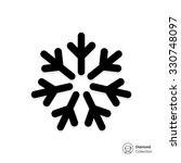 vector icon of cold sign... | Shutterstock .eps vector #330748097