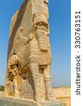 xerxes gate of nations with...   Shutterstock . vector #330763151