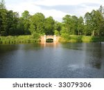 classic landscape park in the... | Shutterstock . vector #33079306