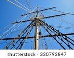 Masting Of Big Wooden Sailing...