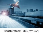 container trains  commercial... | Shutterstock . vector #330794264