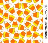 halloween party candy corn... | Shutterstock .eps vector #330799241