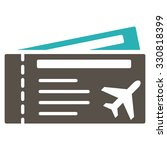 airtickets vector icon. style... | Shutterstock .eps vector #330818399
