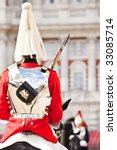 Two Horse Guards In Front Each...