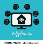 technology home appliances... | Shutterstock .eps vector #330862361