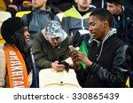 lviv  ukraine   sep 30  fans on ... | Shutterstock . vector #330865439