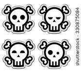 skull icon | Shutterstock .eps vector #330875084