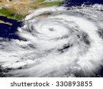 illustration of hurricane... | Shutterstock . vector #330893855