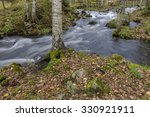 river scenery in autumn | Shutterstock . vector #330921911