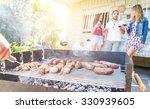 group of friends making a... | Shutterstock . vector #330939605