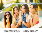 friends have fun together and... | Shutterstock . vector #330940169