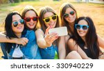 friends have fun together and...   Shutterstock . vector #330940229