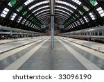 Milan Central Railway Station....