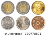 Egyptian Pound Coins Collectio...