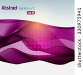 abstract transparent purple and ... | Shutterstock .eps vector #330975941