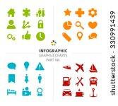 minimalistic infographic vector ... | Shutterstock .eps vector #330991439