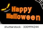happy halloween with creepy... | Shutterstock . vector #330994244