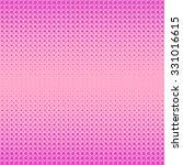 vector halftone patterns. pink... | Shutterstock .eps vector #331016615