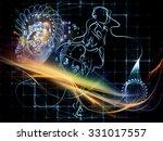human tangents series.... | Shutterstock . vector #331017557