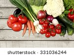 vegetable. | Shutterstock . vector #331036244