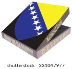 delivery of the bosnia and...   Shutterstock .eps vector #331047977