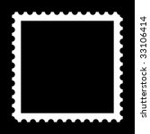 square stamp with copy space on ... | Shutterstock . vector #33106414