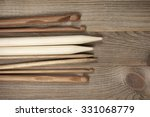 Various Wooden Knitting Needle...
