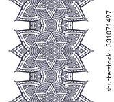 seamless pattern. vintage... | Shutterstock .eps vector #331071497