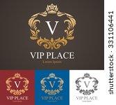 vip place logo template | Shutterstock .eps vector #331106441